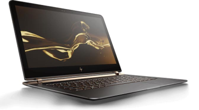 HP Spectre 13: World's Thinnest, Sleekest Laptop