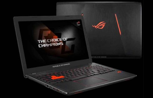 Asus Releases New Gaming Laptop in the name Asus ROG Strix GL553