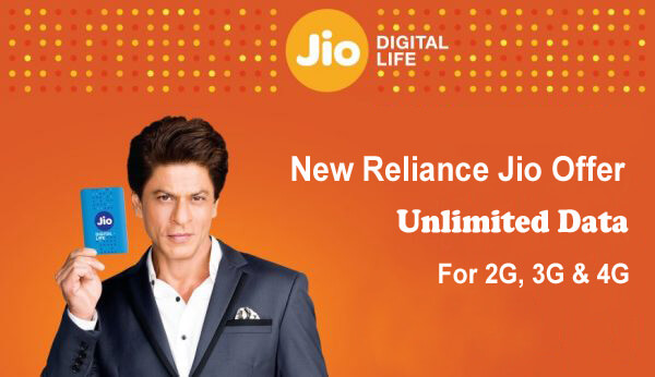 Reliance Communication Launched New Reliance Jio Offers; Unlimited Calling & Data Packs For 2G, 3G & 4G