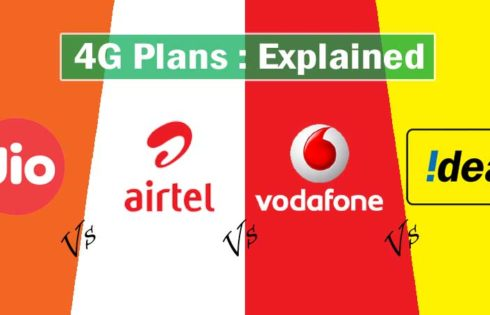 Jio Effect : New Plans From Airtel Idea Vodafone, Detailed Informations